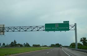 Winter Garden Orange County Florida 429 North Osceola County To Ocoee Aaroads Florida