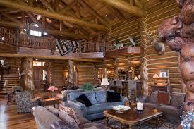 Small Log Cabin Interiors Stylish Log Home Interior Decorating Ideas H15 For Interior Design