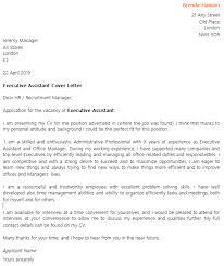 executive assistant cover letter example u2013 cover letters and cv
