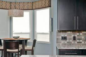 Valances For Bay Windows Inspiration Gorgeous Valance Ideasin Kitchen Contemporary With Alluring Bay
