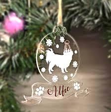 personalised pet bauble christmas tree decoration love unique