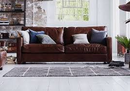 fulham leather sofa for sale fulham broadway 3 seater leather sofa halo furniture village