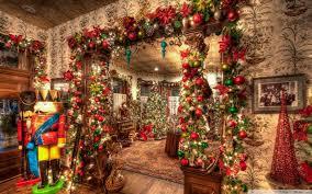 christmasuse decorations inside hd desktop wallpaper