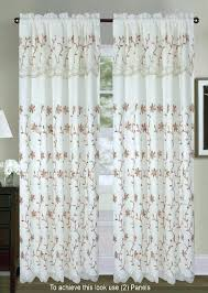Priscilla Curtains With Attached Valance Curtain With Attached Valance Lifeunscriptedphoto Co