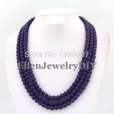 bridesmaid statement necklaces purple beaded beautiful necklace bridesmaid necklace