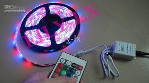 lights for sale top sale ip65 rgb led light strips transformer 24 key ir controller