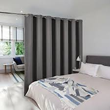Amazon Thermal Drapes Amazon Com Room Divider Curtain Screen Partitions Nicetown