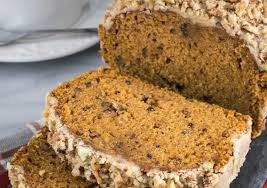 pumpkin foods pecan topped pumpkin bread gurley s foods