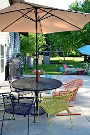 Patio Furniture On A Budget Budget Backyard For The Kids Refresh Living