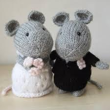 wedding gift knitting patterns wedding mice knitting pattern by amanda berry knitting patterns