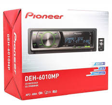 pioneer deh 6010mp car stereo cd mp3 player w remote oel display