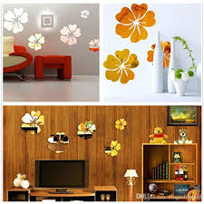 wall stickers large acrylic mirror stickers 3d sticker home decor