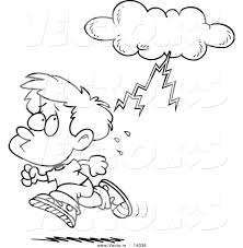 lightning hitting a person clipart clipartxtras