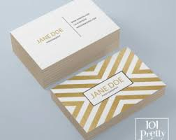 Business Cards Foil Real Gold Foil Business Card Template Moo Gold Foil Design