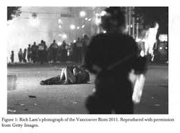 Vancouver Riot Kiss Meme - academic onefile document the riot kiss framing memes as