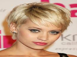 collections of short hairstyles for skinny faces short