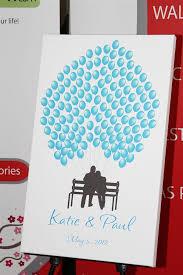 bridal shower guest book alternatives canvas guest books guest book alternative wedding guest book