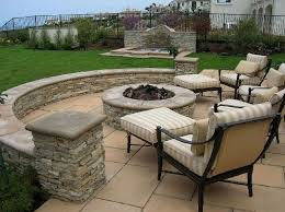 garden and patio backyard rustic house design with custom diy