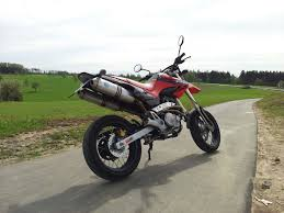 honda slr my first bike honda fmx 650 with full leovince x3 exhaust system