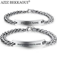 bracelet stainless steel images Customize name bracelet 316 stainless steel id bracelet bangles jpg
