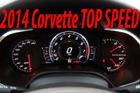2014 corvette stingray top speed