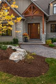 enticing rustic entrance designs that will tempt you to go in