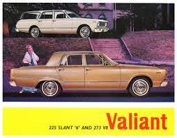 1966 vc chrysler valiant 225 6 u0026 273 v8 range australian brochure