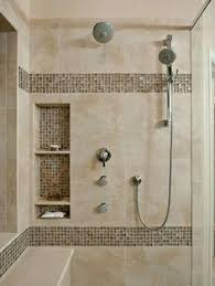 Bathroom Wall Tile Designs - details photo features castle rock 10 x 14 wall tile with glass