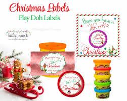 playdoh treat christmas favors playdoh0520 bunch