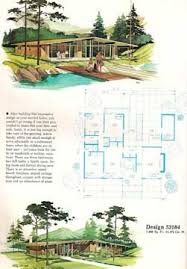 home planners house plans 55 best mid century home plans images on vintage homes