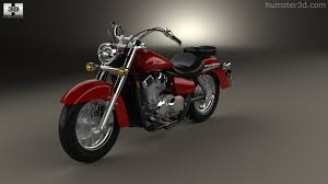 honda shadow aero 360 view of honda shadow aero 750 2013 3d model hum3d store