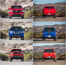 nissan frontier engine noise off road u0026 camping comparison chevrolet colorado vs nissan