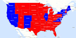 Map Of Election Results by Color Coded Maps Create Them In Minutes With Espatial