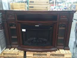 costco tv stand lowes fireplace gas electric mounted electric