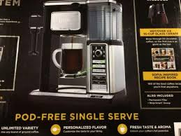 ninja coffee maker black friday ninja coffee bar glass carafe system u2013 costcochaser