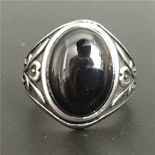 black gothic rings images Size 7 12 amazing design black stone punk gothic ring 316l jpg
