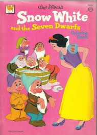 filmic light snow white archive 1974 snow white coloring book