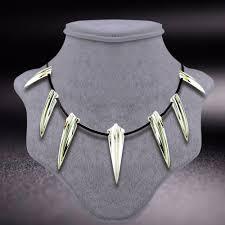 black necklace images Black panther necklace jpg