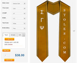 custom graduation sashes custom graduation stoles sashes at stoles