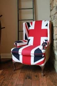 Union Jack Dining Chair Wing Back Chairs Foter