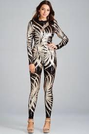 sleeve sequin jumpsuit autumn v neck sleeved sequin jumpsuit rompers