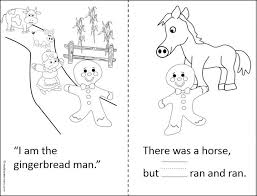 the gingerbread man coloring pages 26 best prek k gingerbread man images on pinterest gingerbread