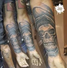 cover up skull skindeep best studio in