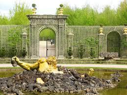 Versailles Garden Map Gardens Of Versailles Versailles France The Enceladus Fountain