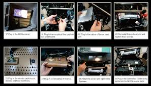 bmw 5 series navigation system how to install bmw 5 series f10 car dvd gps navigation system diy