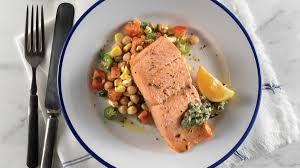 olive oil u2013poached salmon recipe clean eating magazine
