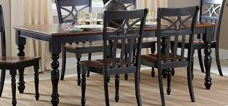 Cherry Wood Dining Room Set by Homelegance Sanibel Dining Table Cherry Black 2119bk 78