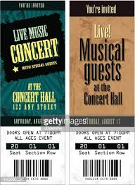 concert ticket template other size s inspiring detail
