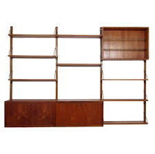 Wallunits Royal System Wall Unit By Poul Cadovius For Cado 1950s 68408