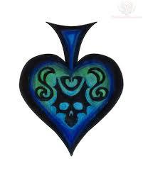 poker spade tattoo